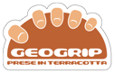 Geogrip prese in terracotta